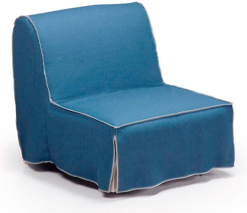 Slaapbank Voor 1 Persoon.Laforma Bedbank Jolly Loungestoel 1 Persoon Stoel Blauw La Forma